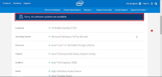 برنامج Intel Driver الجديد من شركة إنتل لتحديث تعريفات إنتل بنقرة زر واحدة