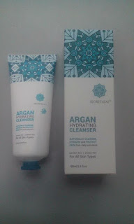argan hydrating cleanser