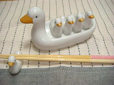 Duckling Chopstick Rests