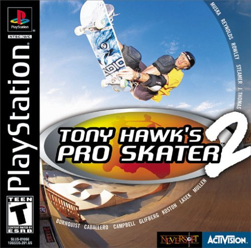 tony hawk s pro skater 2 para playstation 1