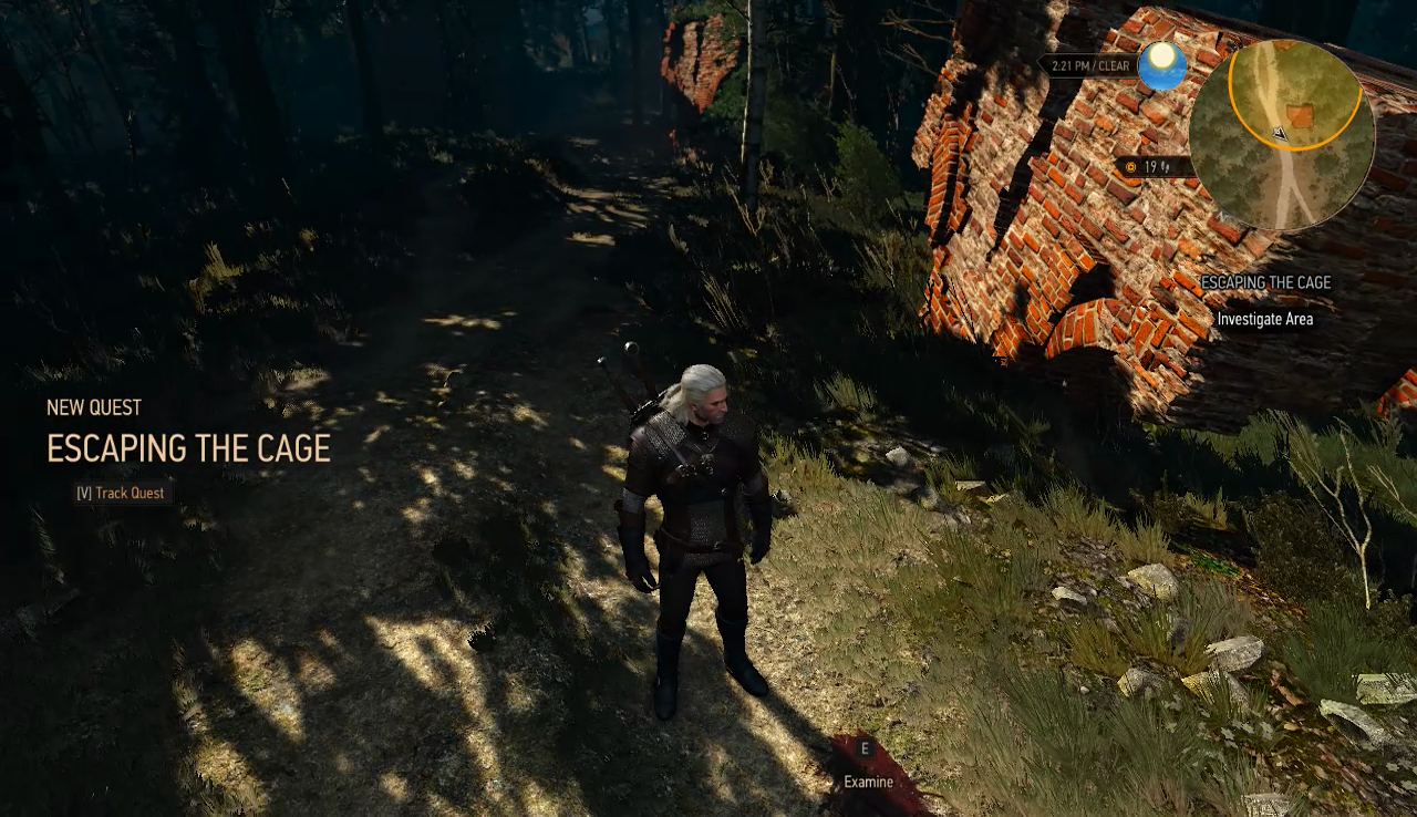 The Witcher 3 - Escaping the cage