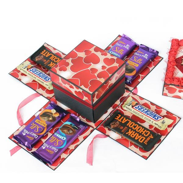 3 Layer Chocolate Explosion Box