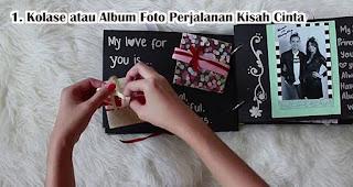 Kolase atau Album Foto Perjalanan Kisah Cinta Kamu dengan Pasangan