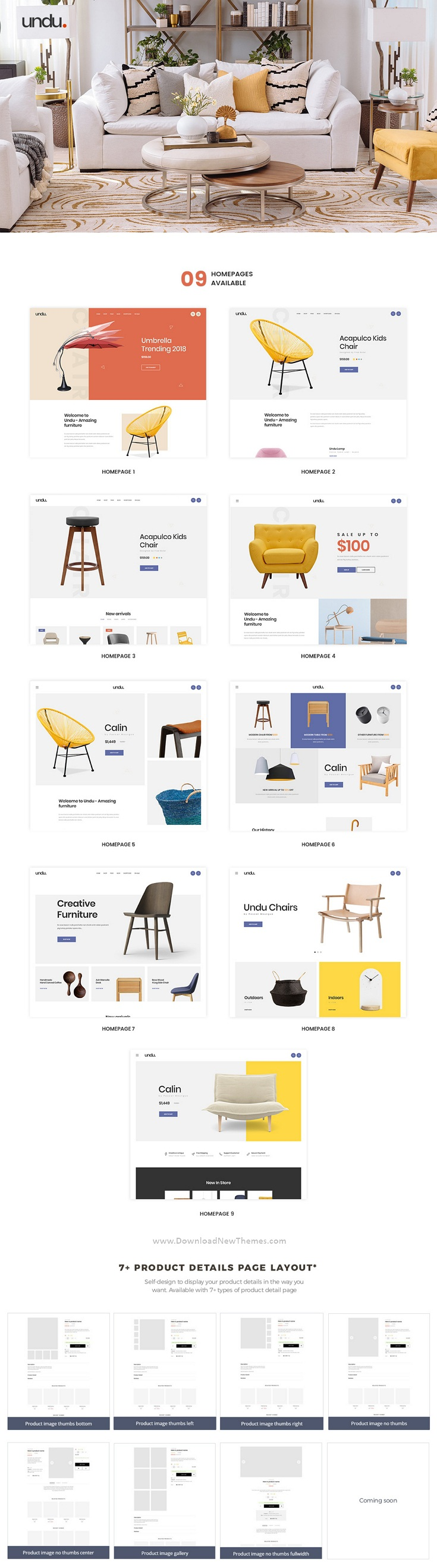The Furniture Store Prestashop Theme