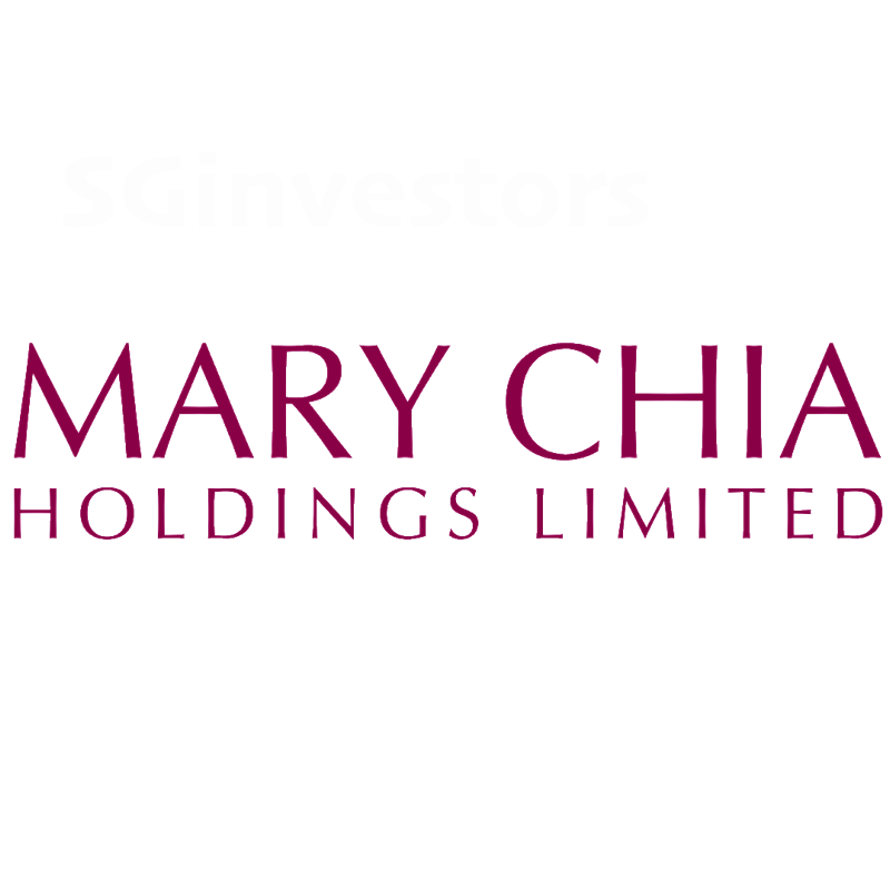 MARY CHIA HOLDINGS LIMITED (SGX:5OX) @ SGinvestors.io