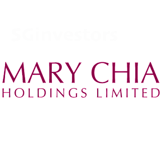 MARY CHIA HOLDINGS LIMITED (5OX.SI) @ SG investors.io
