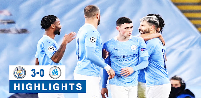 Manchester City vs Olympique Marseille – Highlights