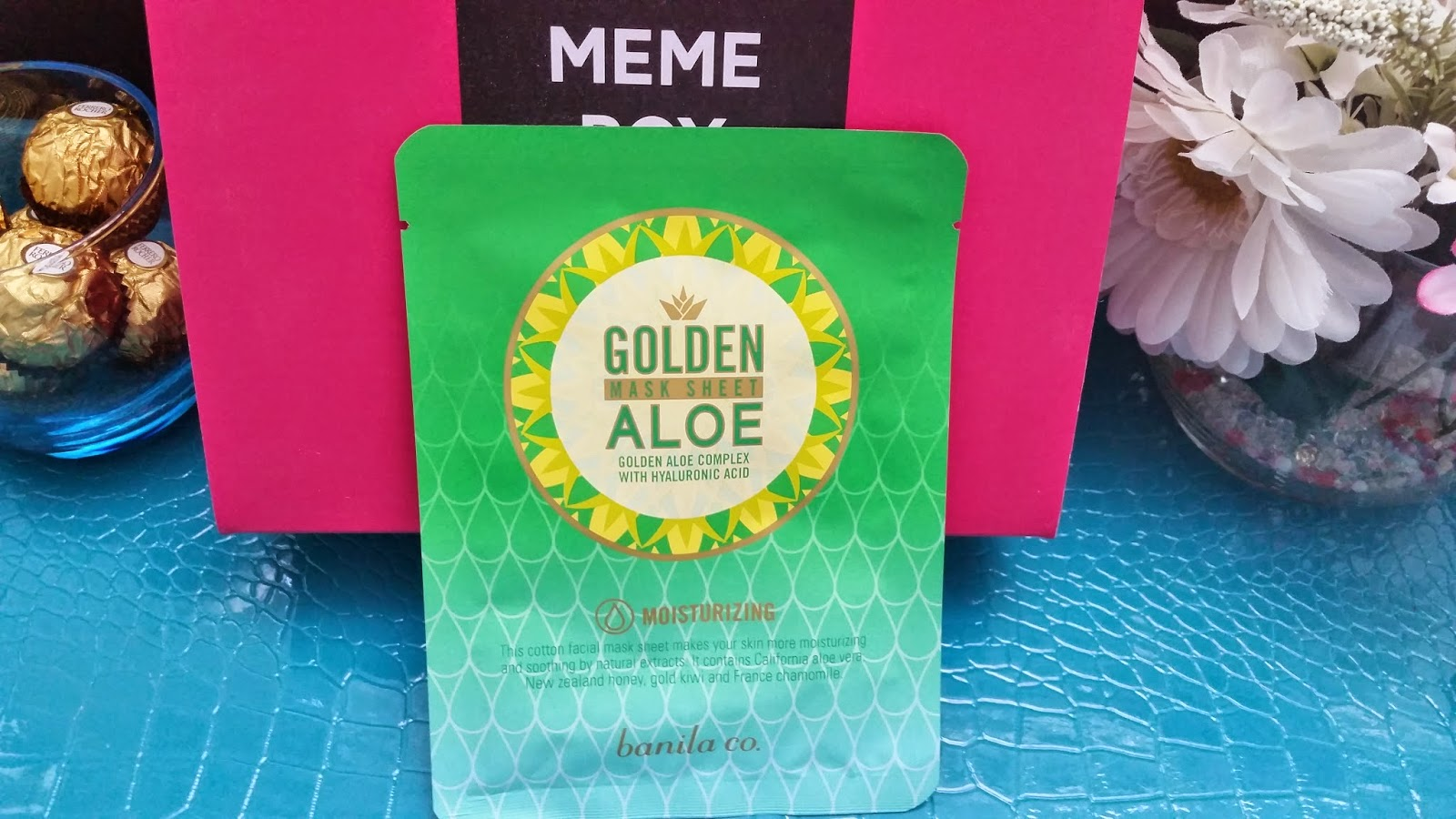 Banila Co. Golden Aloe Mask Sheet