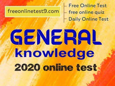 general knowledge 2020 online test