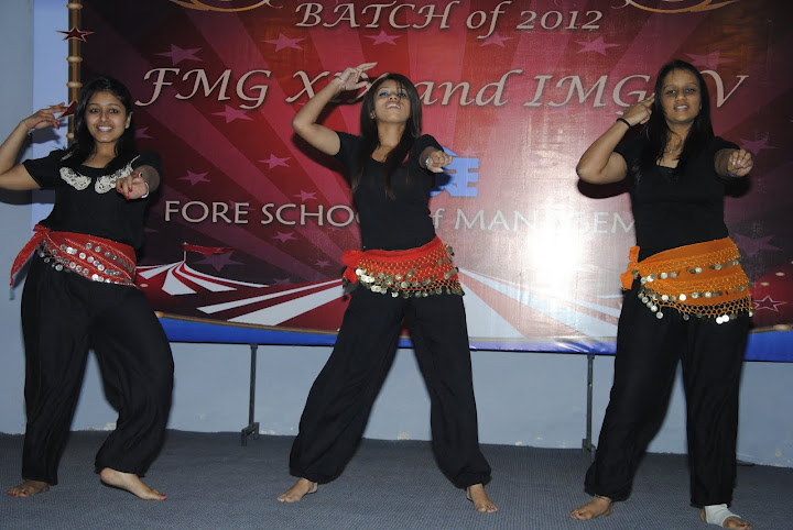 FORE School Of Management: A Goodbye! Farewell To The Batch 2010-2012