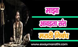 maza-avadta-sant-essay-in-marathi