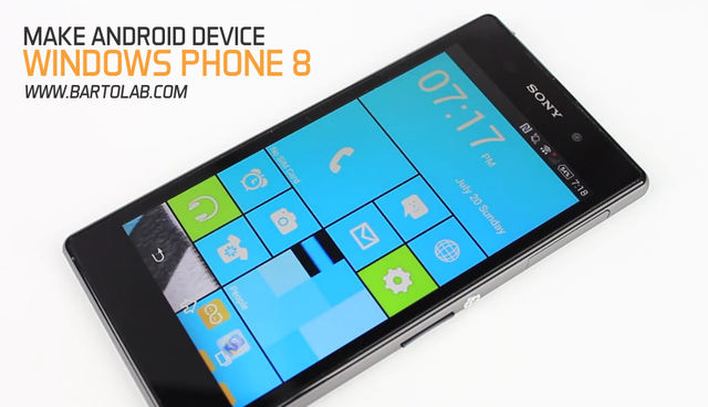 Windows 8.1 Theme For Android Phone
