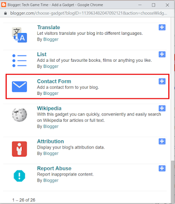 How To Add Contact Us Form Contact Us Page In Blogger