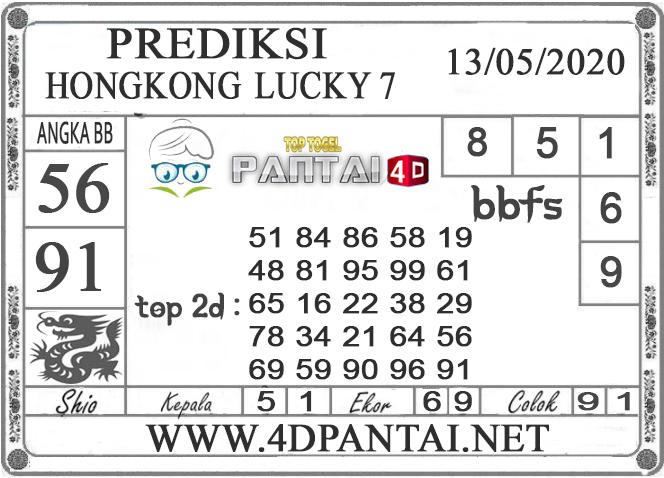PREDIKSI TOGEL HONGKONG LUCKY 7 PANTAI4D 13 MEI 2020