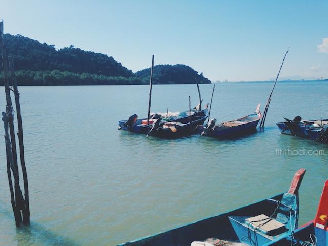 (Selera) Mi Udang Kuah di Pulau Aman, Pulau Pinang