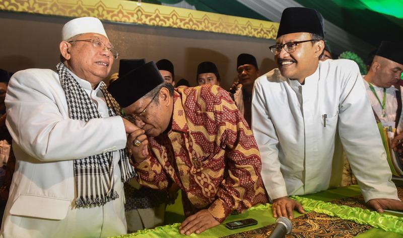 Himbauan Tegas Ketua MUI Ma`ruf Amien Kepada Seluruh Kader NU Di Seluruh Indonesia: Maafkan Ahok