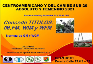 Centroamericano y del Caribe SUB20 Ambas Ramas (Dar clic a la imagen)