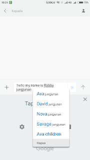 speech to text di android
