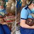 Isang Pulis, Nag-volunteer na Magpabreåstfeed sa Isang 5-month Old Baby na Iniwan ng mga Magulang Upang Magtrabaho!
