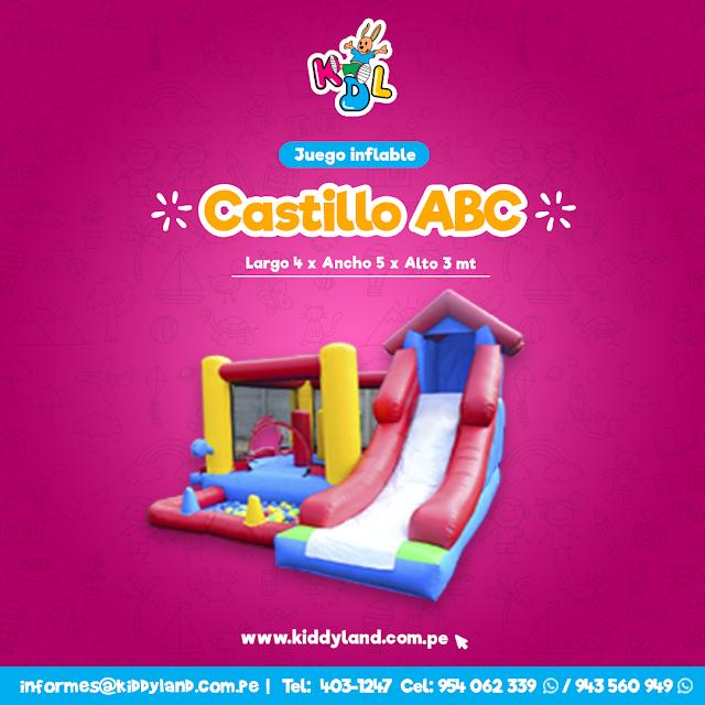 Alquiler Juegos Inflables para niños