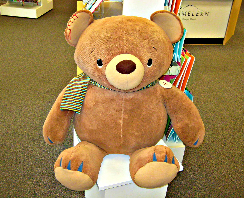 Celeste Angle Bear Evident Effect Alert Annette Funicello Teddy Bear