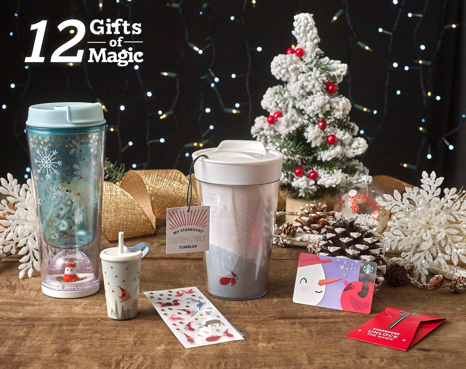 Starbucks 12 Gifts Of Magic