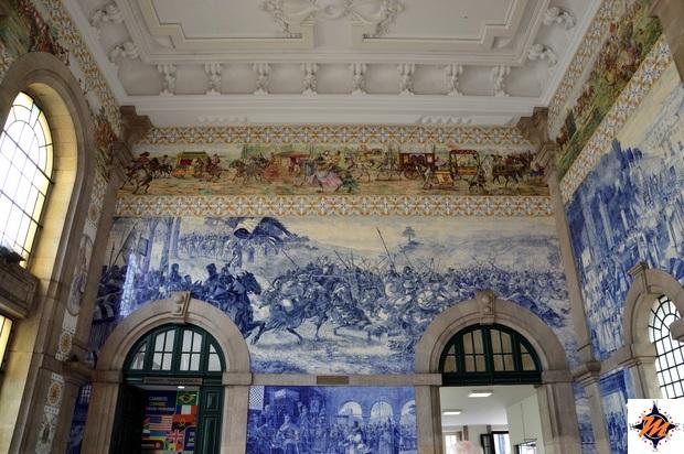 Oporto, stazione di São Bento