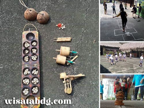Wisata permainan tradisional anak di Bandung