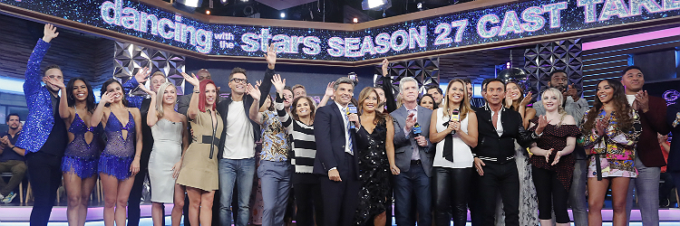 The cast of Dancing with the Stars fall 2018