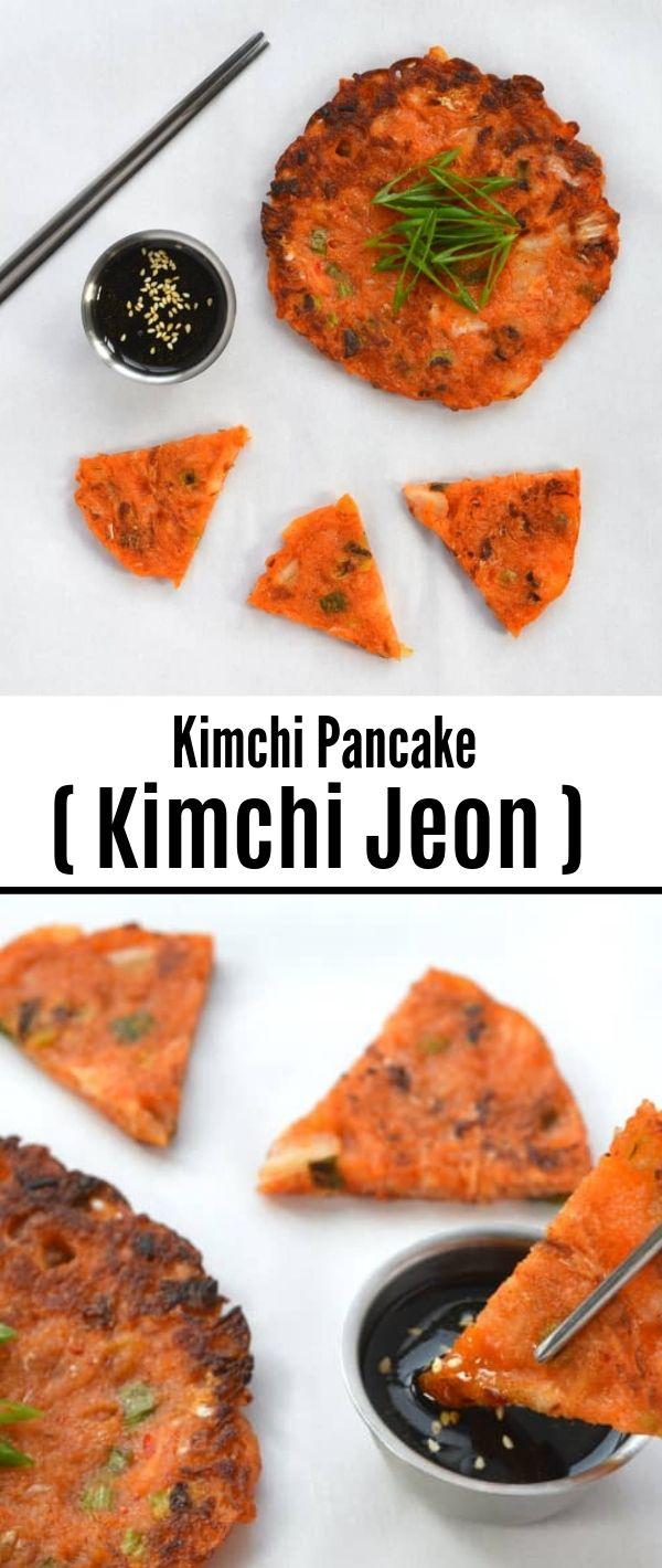Kimchi Pancake (Kimchi Jeon) #Kimchi #Pancake #(Kimchi Jeon) Healthy Recipes Easy, Healthy Recipes Dinner, Healthy Recipes Best, Healthy Recipes On A Budget,