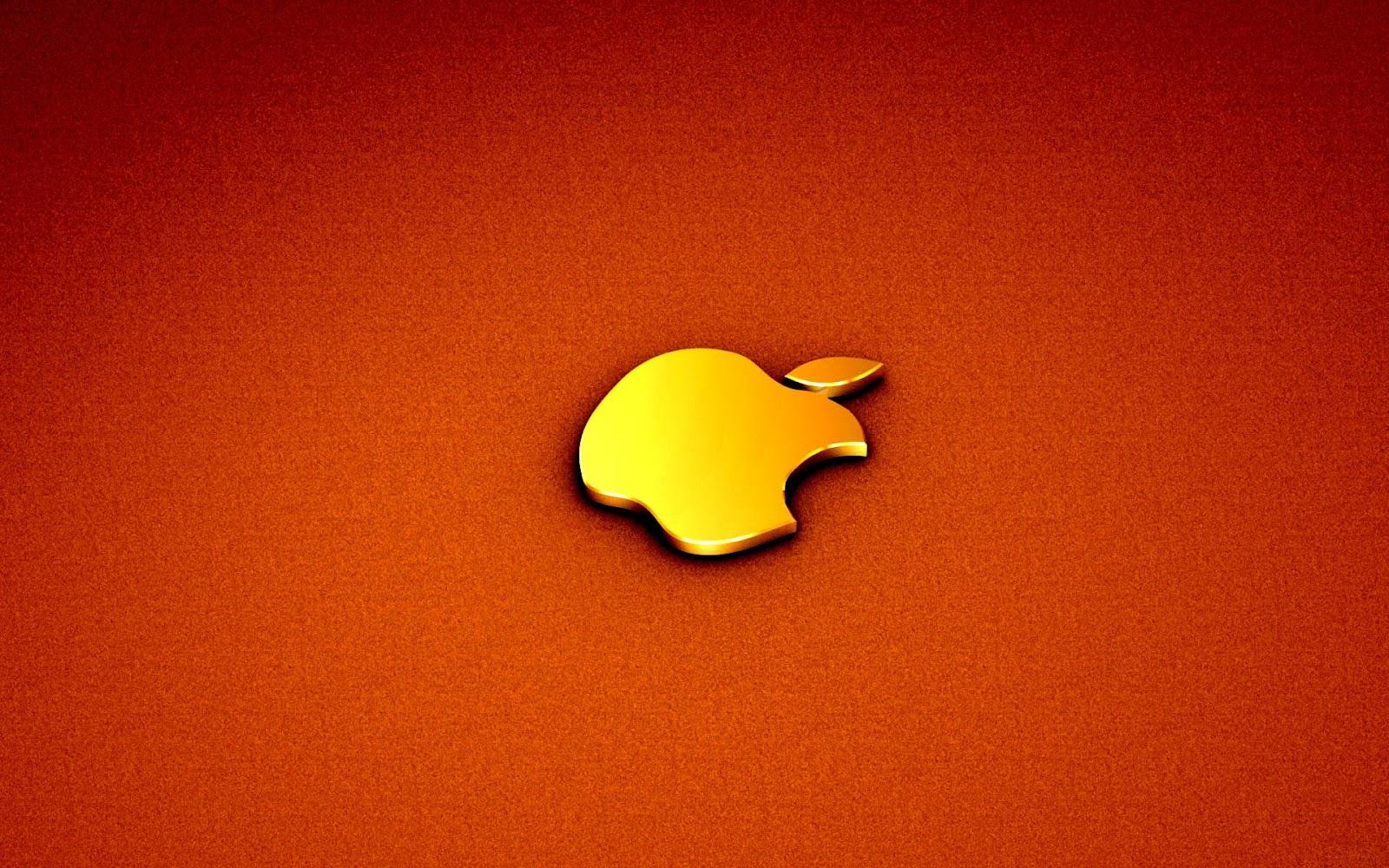 yellow apple logo - photo #4