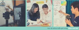 Chương trình học vẽ online miễn phí của Zest đã bắt đầu