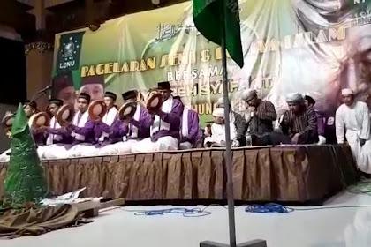Lesbumi dan LDNU Bangkalan Lestarikan Hadrah Dung Dungan