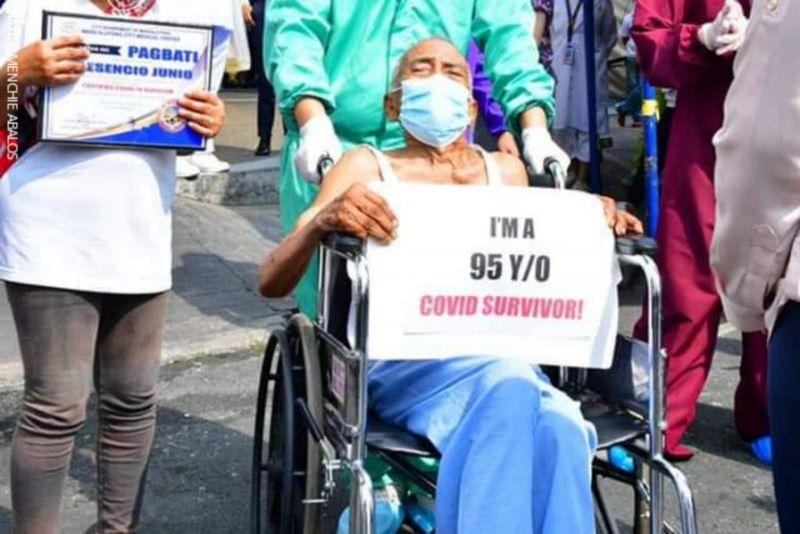 filipino covid survivor