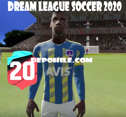 DLS 20 Fenerbahçe Ev Sahibi ve Deplasman Forma Ekleme PNG