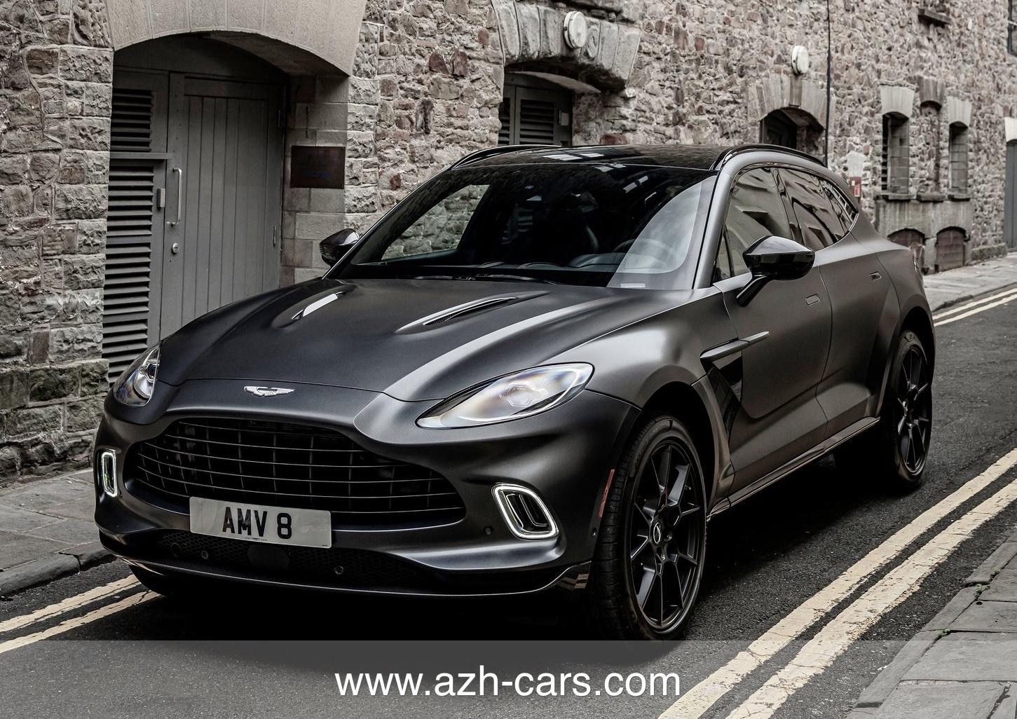 2021 Aston Martin Dbx Satin Xenon Grey Azh Cars