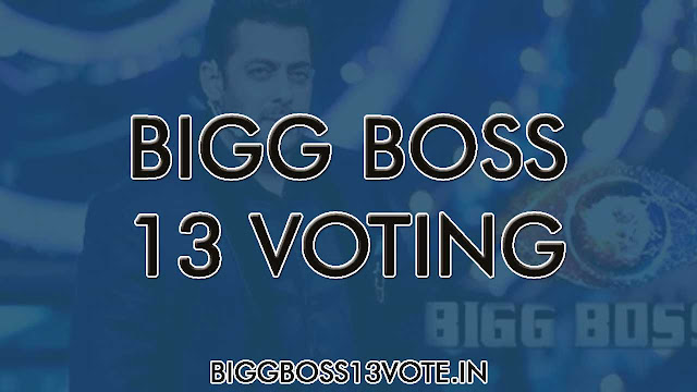 Bigg Boss 13 Vote