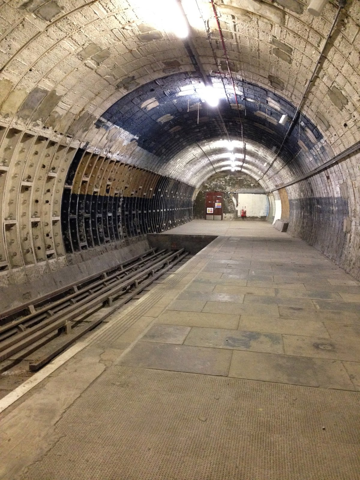 Abandoned Tube Station Platform