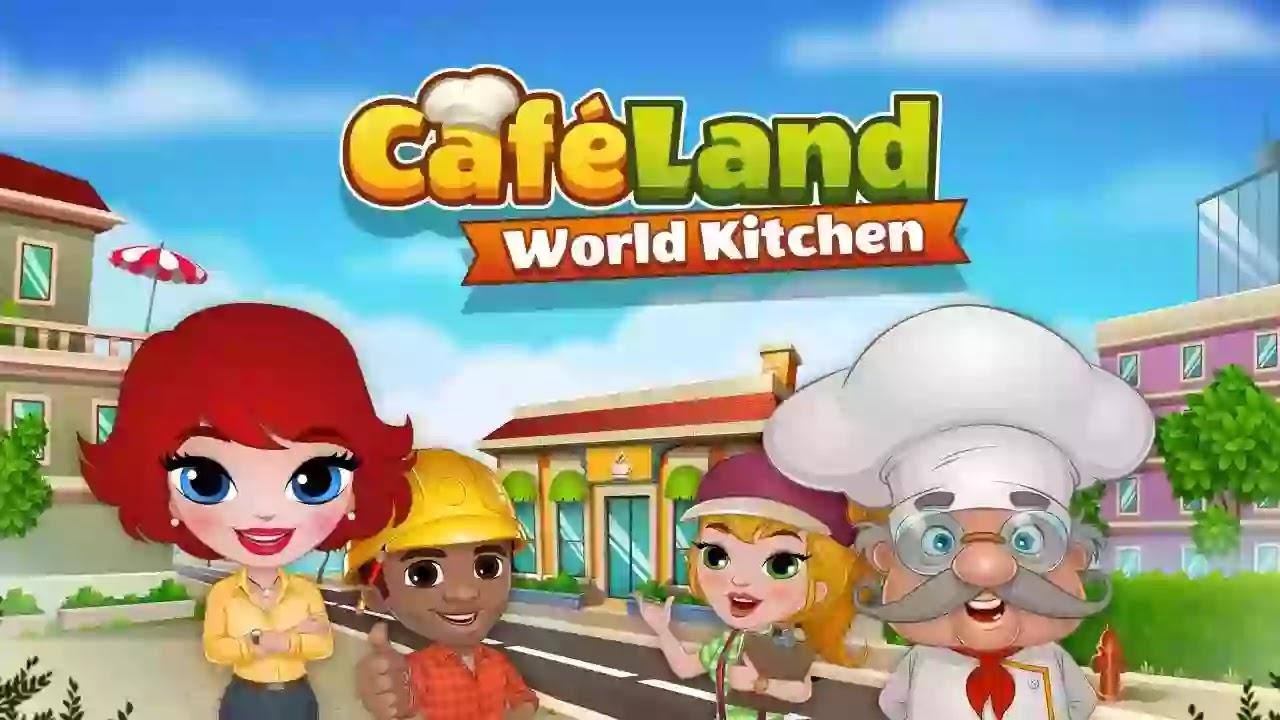 كافيلاند: مطبخ العالم اصنع مقهى أحلامك Cafeland صمم المقهى والمخبز والمطعم الذي تحلم به ، وقم بطهي الطعام اللذيذ وكن طاهياً مميزاً!