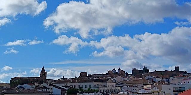 Vista general de Cáceres