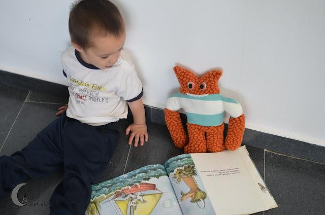 Pagina del libro con Max.