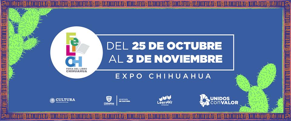 Feria del Libro Chihuahua 2019