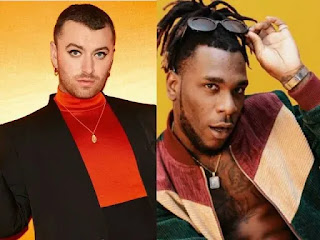 Sam Smith announces collaboration with Burna boy