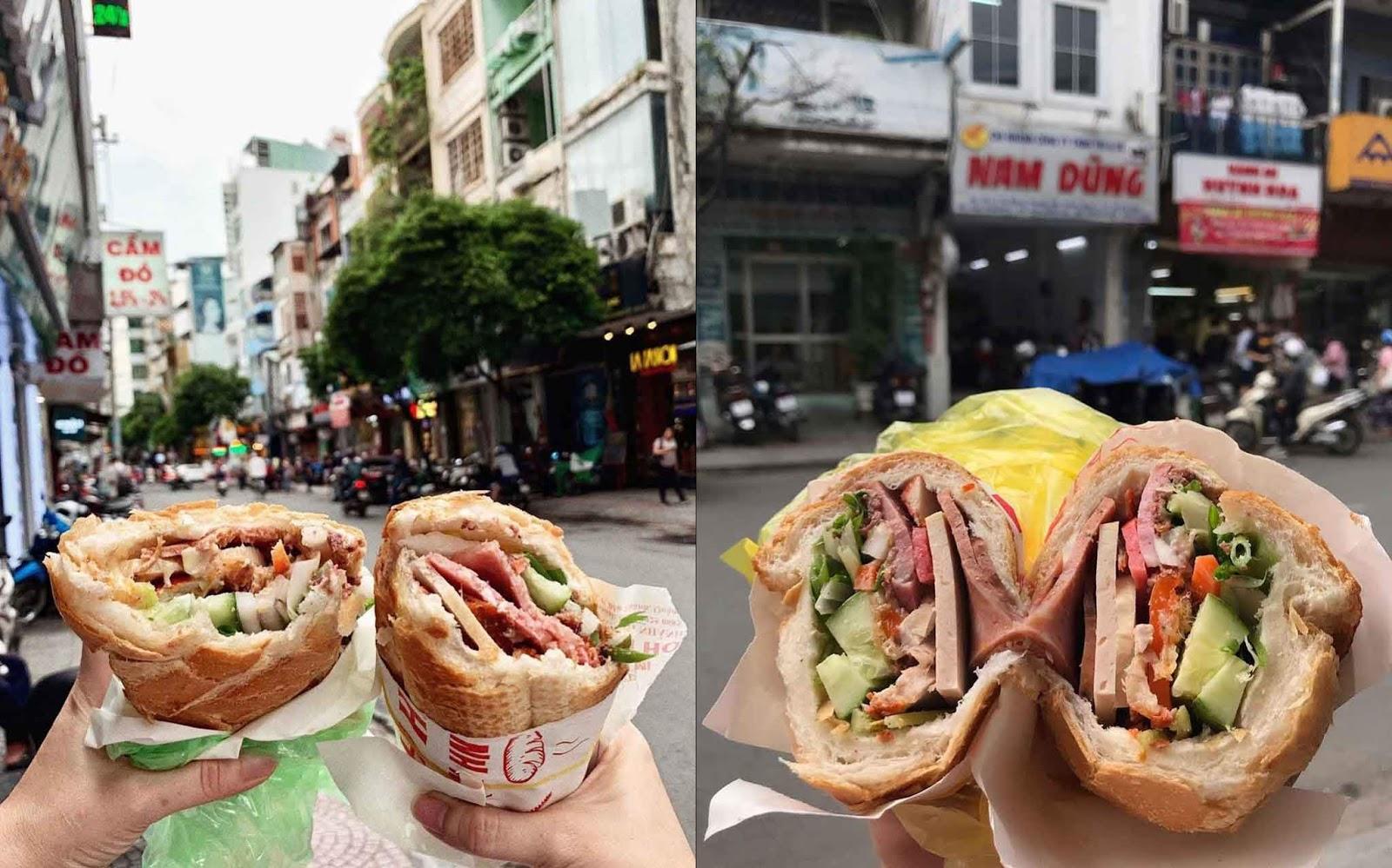 6 tiệm bán mì nổi tiếng siêu ngon ở Sài Gòn