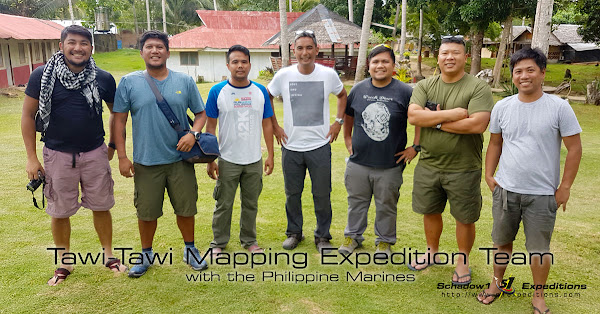 Tawi-Tawi Mapping Expedition Team - Schadow1 Expeditions