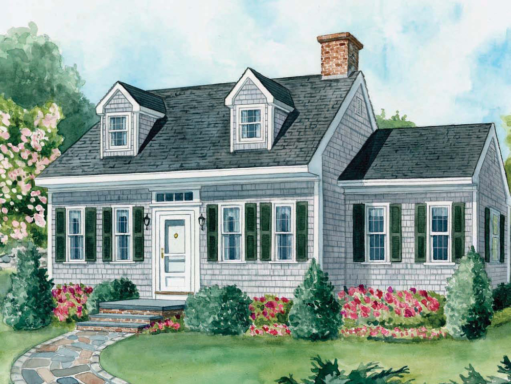 Landscape Plans For Cape Cod Houses