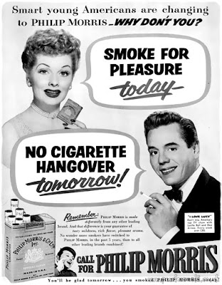 Lucy and Desi for Philip Morris