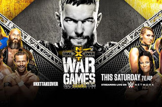 WWE NXT TakeOver WarGames 24th November Full Episode 480p 720p HD