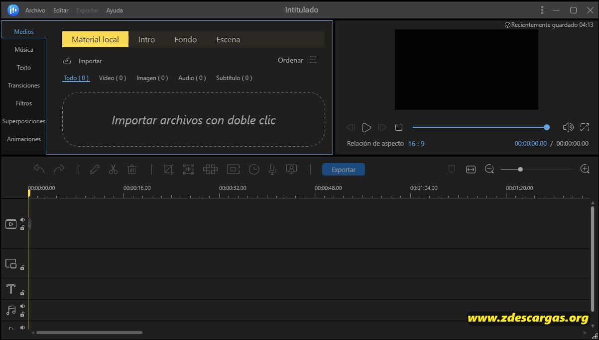 EaseUS Video Editor Full Español