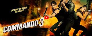 Commando 3 Movie free